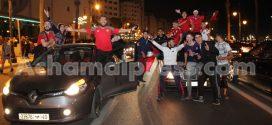 برشلونة الإسباني يهنئ المغاربة بتأهل الأسود إلى مونديال روسيا
