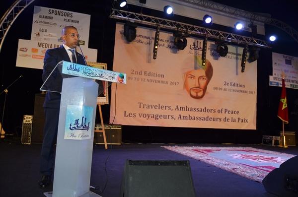 """انطلاق المهرجان الدولي ابن بطوطة تحت شعار """"طنجة مدينة السلام والتسامح"""""""