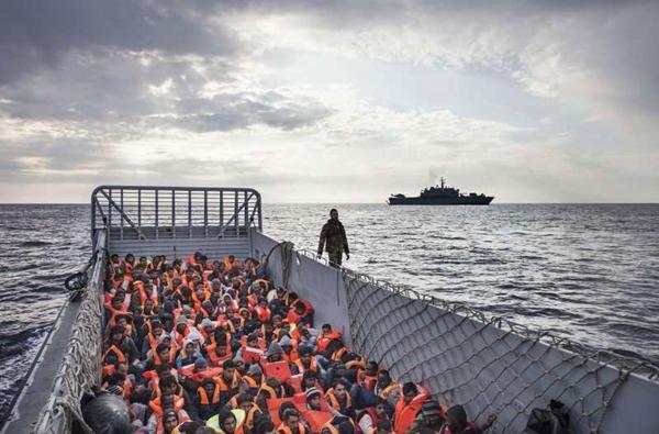 البحرية الملكية توقف 2225 مهاجرا سريا قرب الحسيمة بينهم 520 مغربيا