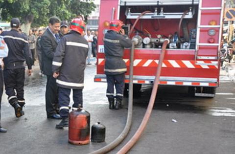 انفجار قنينة غاز بوزان يؤدي بحياة طفلة واصابة 4 أفراد من أسرتها