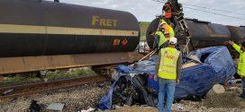 معطيات جديدة حول حادثة اصطدام قطار بسيارة لنقل العمال بطنجة