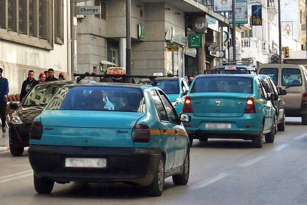 توقيف سائق سيارة أجرة لا تتوفر على مأذونية بطنجة