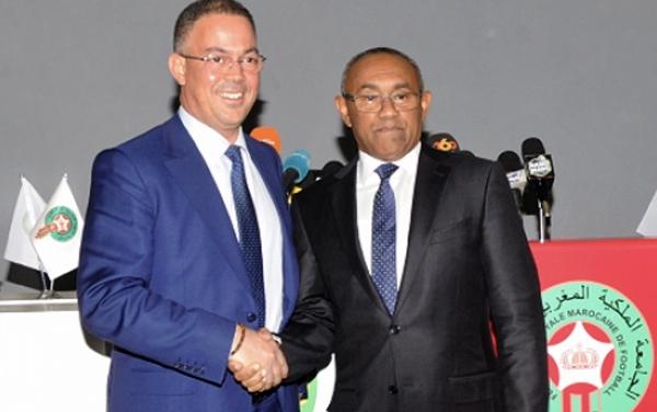 """رئيس """"الكاف"""": إستضافة المغرب لمونديال 2026 شرف للقارة الإفريقية برمتها"""