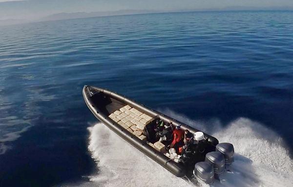 قوات النخبة تتصدى بحزم لعصابات التهريب الدولي للمخدرات بمنطقة جبل طارق