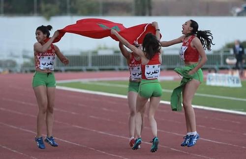 العداؤون المغاربة يحصدون 44 ميدالية في البطولة العربية لألعاب القوى للشباب