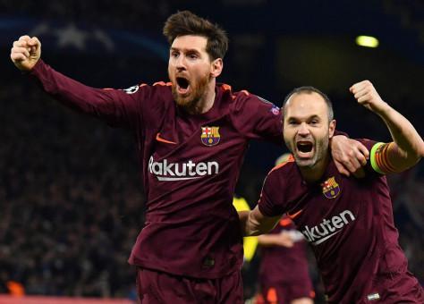 برشلونة يتوج بطلا لليغا للمرة الخامسة والعشرين في تاريخه