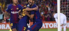 """برشلونة بعشرة لاعبين يتعادل مع ريال مدريد في """"الكلاسيكو"""" الأخير لإنييستا"""