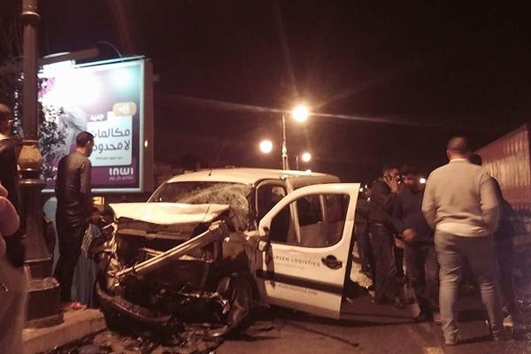 وفاة شخص وإصابة 6 آخرين في حادثة سير بقنطرة مغوغة في طنجة