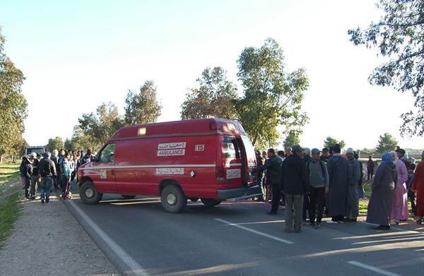 اصابة 7 أشخاص بجروح متفاوتة الخطورة في حادثة سير قرب نادي الرماية بطنجة