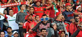 الجمهور المغربي ثاني أكبر جمهور في مونديال روسيا