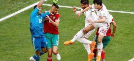 المنتخب المغربي ينهزم في أولى مبارياته ضمن منافسات كأس العالم أمام إيران