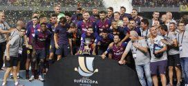 """برشلونة يتوج بطلا لكأس """"السوبر الاسباني"""" على حساب إشبيلية بطنجة"""