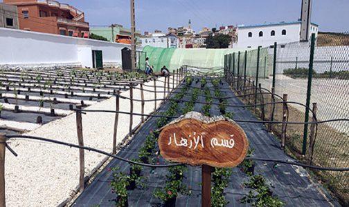 تدشين فضاءات تربوية بثانوية القصر الصغير في إطار مشروع تعاون مغربي سعودي