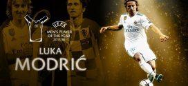 مودريتش يفوز بجائزة أفضل لاعب في أوربا لسنة 2018