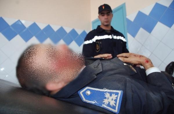 ايقاف سائق سيارة صدم عمدا موظف شرطة وتسبب في وفاته