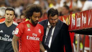 تشخيص إصابة مارسيلو يقلق ريال مدريد