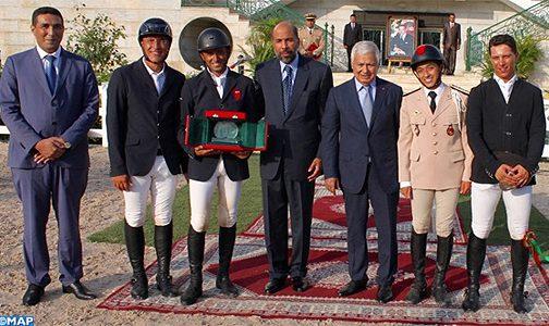 الأحرش يفوز بالجائزة الكبرى للملك محمد السادس للقفز على الحواجز بتطوان