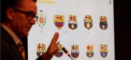 برشلونة يجدد شعاره لخدمة العلامة التجارية