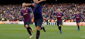 """""""سواريز"""" يقود برشلونة لاكتساح ريال مدريد بخماسية قاسية فى غياب """"ميسي"""""""