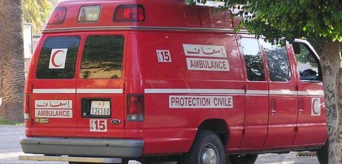 مصرع فتاة وإصابة 3 اخرين في حادثة سير بطنجة