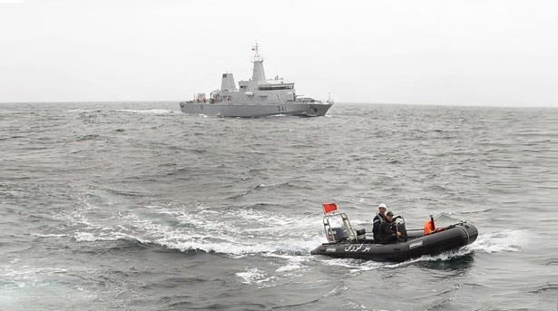 فقدان متدربين من البحرية الملكية خلال تدريبات بحرية قبالة سواحل القصر الصغير