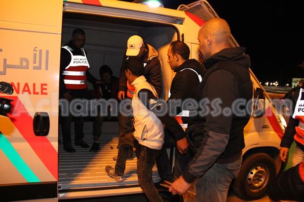 أمن تطوان يوقف شخصين متورطين في التحريض على مسيرات خرق الطوارئ الصحية