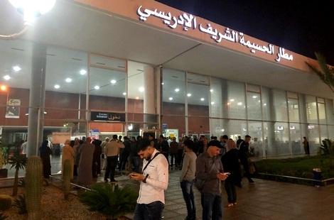 ارتفاع حركة النقل الجوي بمطار الشريف الإدريسي بالحسيمة خلال يونيو الماضي