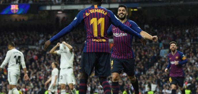 برشلونة يقسو على ريال مدريد بثلاثية ويتأهل لنهائي كأس الملك