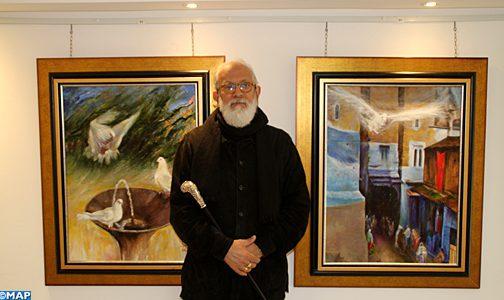 أحمد بن يسف يعرض جديد أعماله الفنية بمدينة تطوان