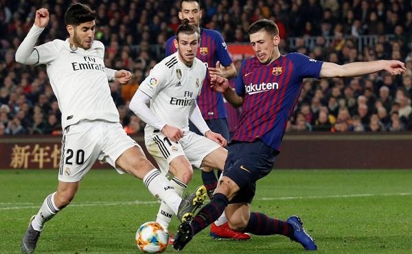 ريال مدريد ينتزع تعادلا ثمينا على أرض غريمه برشلونة في ذهاب نصف نهائي كأس الملك