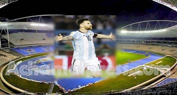 مباراة المغرب الأرجنتين تقام على الملعب الكبير لطنجة
