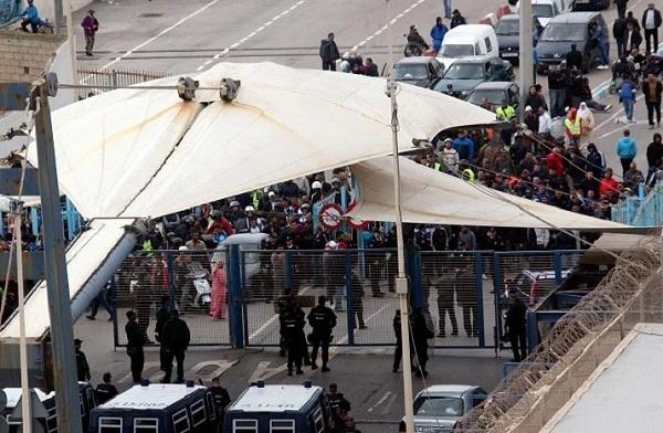 """رجال أعمال سبتة المحتلة ينددون بقرار إغلاق معبر """"تارخال"""""""