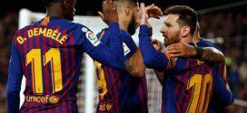 برشلونة يتوج بلقب الدوري الإسباني للمرة الـ26 في تاريخه