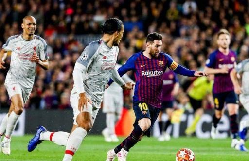 برشلونة يسحق ليفربول بثلاثية نظيفة ويقترب من نهائي الأبطال