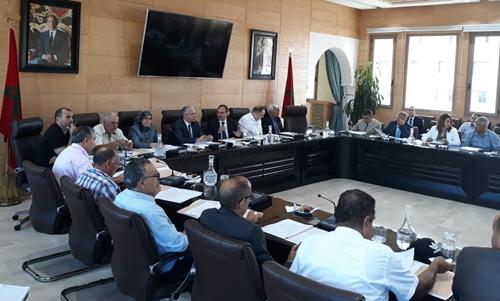 مجلس عمالة طنجة يناقش الوضع الصحي في دورته العادية