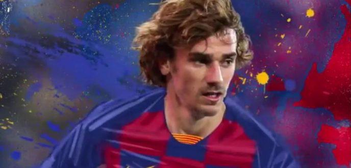 """برشلونة يعلن رسميا ضم النجم الفرنسي """"انطوان غريزمان"""" إلى صفوفه"""