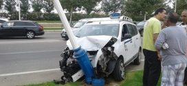 حادثة سير خطيرة تعطب 5 أشخاص بين مارتيل وكابونيغرو