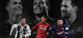 """""""الفيفا"""" يعلن قائمة المرشحين الثلاثة لجائزة أفضل لاعب في العالم"""