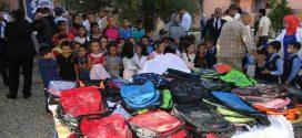 """استفادة 56 ألف تلميذ من المبادرة الملكية """"مليون محفظة"""" باقليم الحسيمة"""