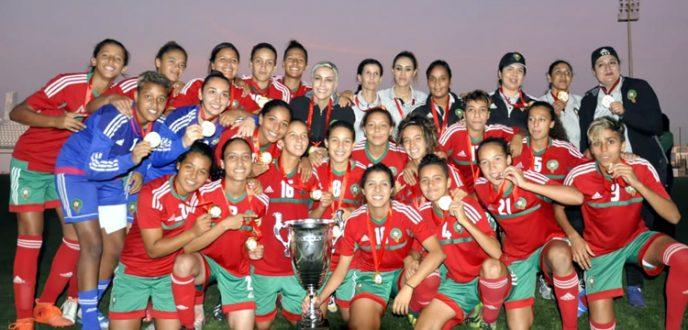 المنتخب النسوي لأقل من 20 سنة يفوز بدورة اتحاد شمال إفريقيا بطنجة