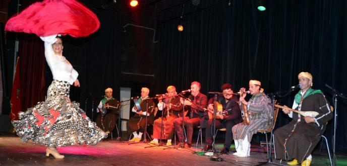 مزيج الطقطوقة المغربية والفلامينكو الإسباني يمتع الجمهور بمدينة تطوان