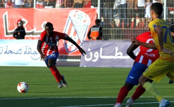 المغرب التطواني يتعادل مع مضيفه أولمبيك آسفي ويواصل صدارة البطولة