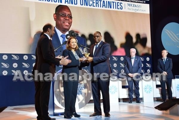 """منتدى """"ميدايز 2019"""" يمنح الجائزة الكبرى لرئيس السنغال """"ماكي سال"""""""