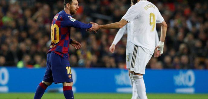 """التعادل السلبي يحسم موقعة """"كلاسيكو العالم"""" بين برشلونة وريال مدريد"""