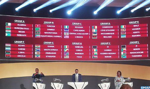 قرعة تصفيات كأس العالم 2022 تضع المنتخب المغربي في مجموعة سهلة
