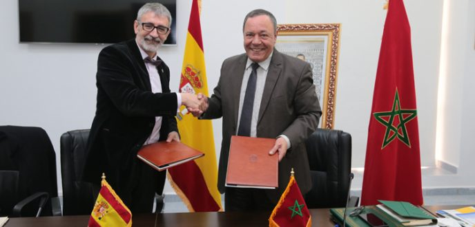 توقيع اتفاقية تعاون بين جامعة عبد المالك السعدي بتطوان وجامعة قادس