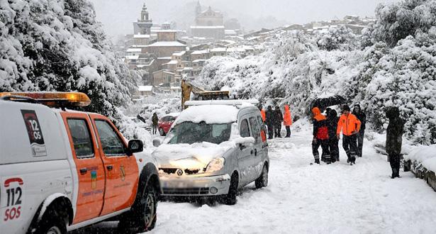 مصرع ثلاثة أشخاص جراء سوء الأحوال الجوية التي تشهدها إسبانيا