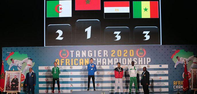 """المغرب يحرز اللقب البطولة الإفريقية للكراطي """"طنجة 2020"""""""
