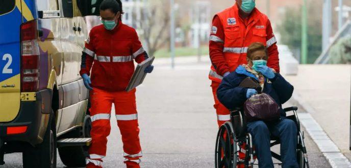 """حصيلة الوفيات في إسبانيا جراء وباء """"كورونا"""" تتجاوز الصين بعد تسجيل 3434 حالة"""