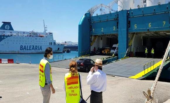 اسبانيا تعلن عن رحلة بحرية جديدة من طنجة المتوسط لإعادة رعاياها العالقين في المملكة